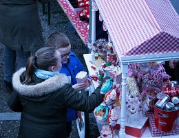 Winter Wonderland - candy cart