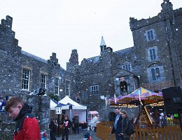 Winter Wonderland - outside castle
