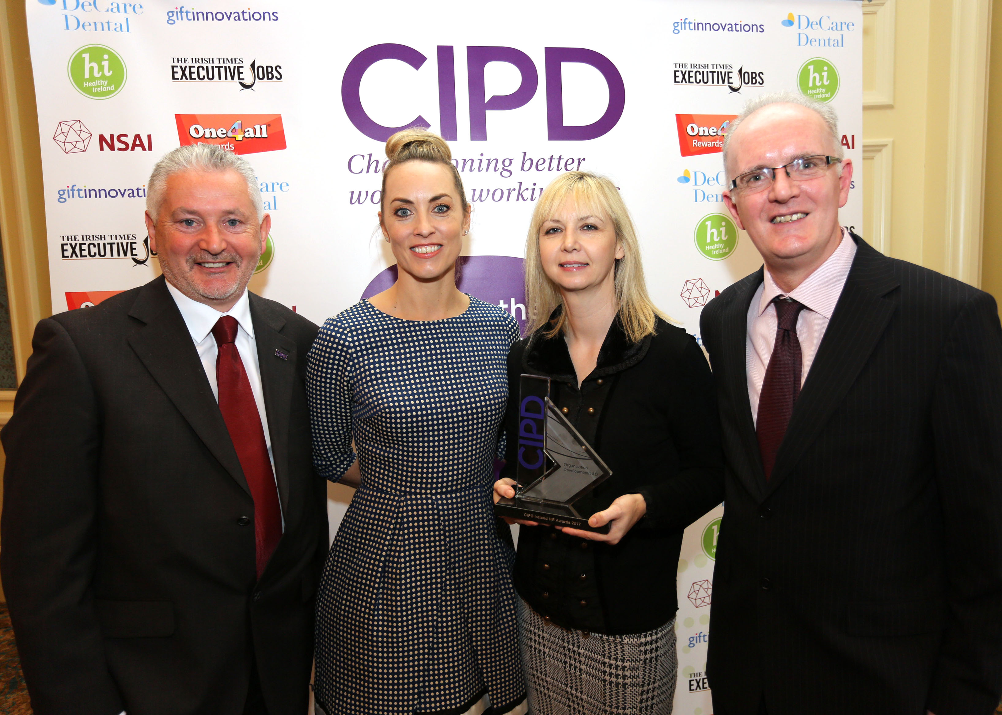 WALK were delighted to receive the 2017 CIPD Award for Organisation Development/L&D
