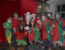 Winter Wonderland - Santa and the elves