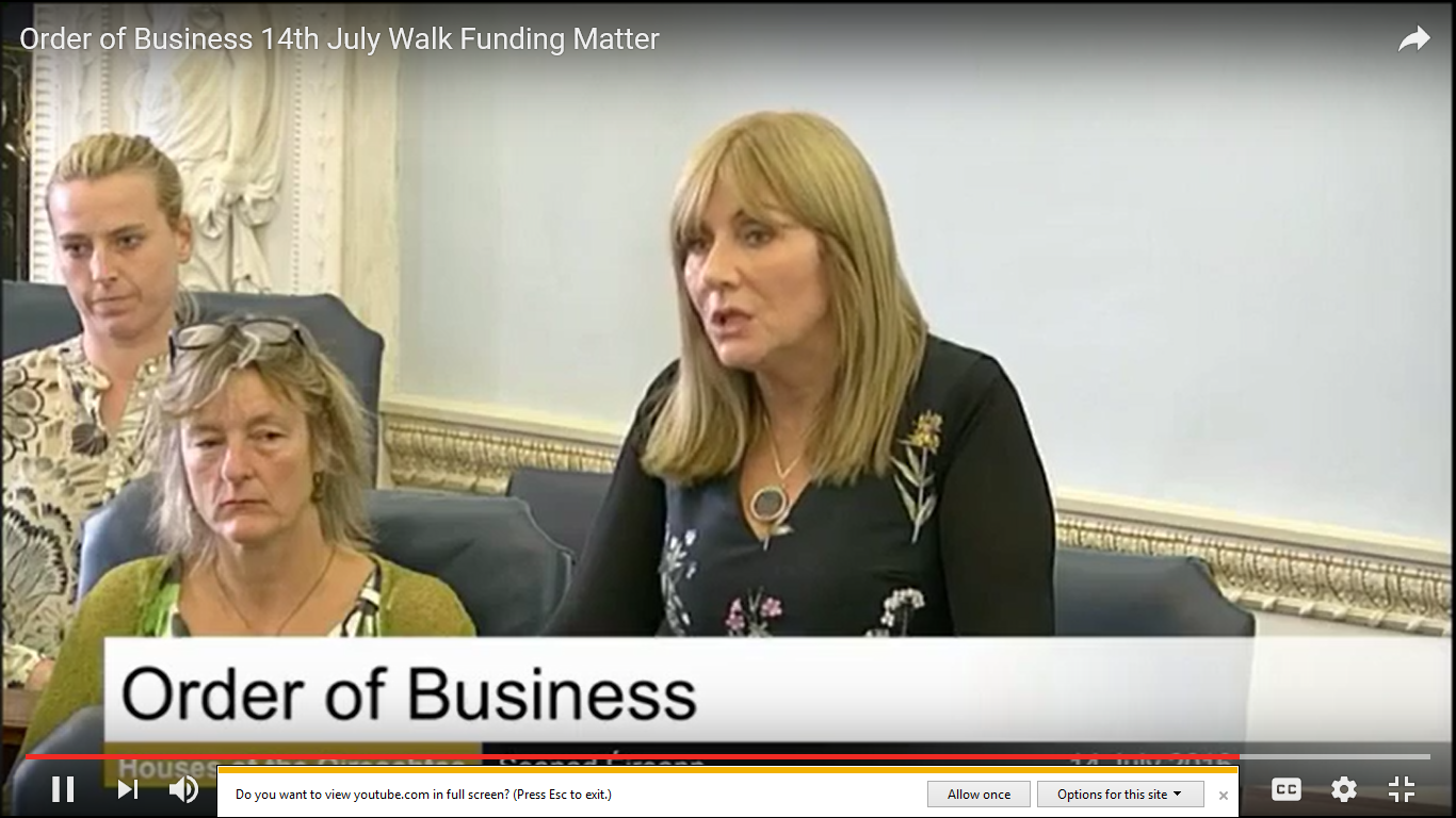 Senator Frances Black commends work of WALK