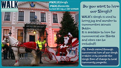 Do you want to hire our Santa Sleigh