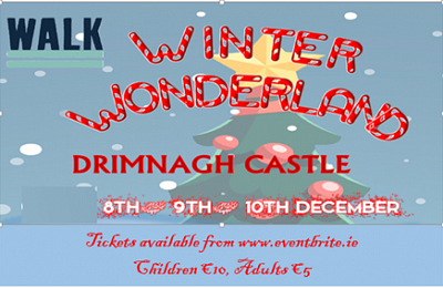 WALK's Winter Wonderland 8th, 9th and 10th December